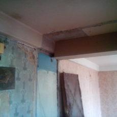 Капитальный ремонт двухкомнатной квартиры ул. Варшавская